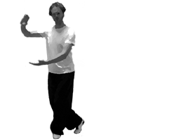 Chen tai chi pose: Cloud hands